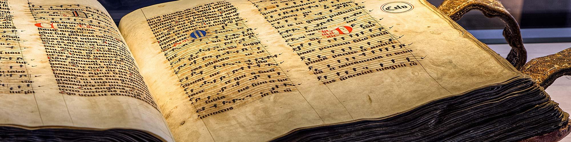 Missale Romanorum im Museum der Burg Bentheim